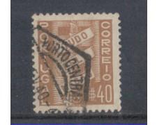 1935 - LOTTO/9696GU - PORTUGAL - 40c. BRUNO - USATO