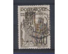 1940 - LOTTO/9706EU - PORTOGALLO - 40c. MONARCHIA - USATO