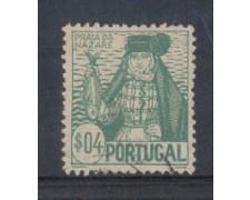 1941 - LOTTO/9708AU - PORTOGALLO - 4c. COSTUMI REGIONALI - USATO