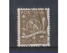 1945 - LOTTO/9719AU - PORTOGALLO - 10c. SCUOLA NAVALE - USATO