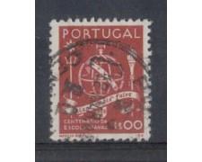 1945 - LOTTO/9719CU - PORTOGALLO - 1e. SCUOLA NAVALE - USATO