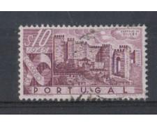 1946 - LOTTO/9720AU - PORTOGALLO - 10c. CASTELLI - USATO