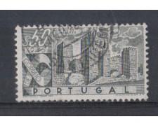 1946 - LOTTO/9720DU - PORTOGALLO - 50c. CASTELLI - USATO