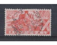 1946 - LOTTO/9720EU - PORTOGALLO - 1e. CASTELLI - USATO