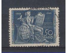 1946 - LOTTO/9721U - PORTOGALLO - 50c. CENTENARIO BANCA - USATO