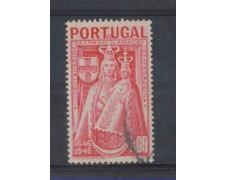 1946 - LOTTO/9722CU - PORTOGALLO - 1e. VERGINE PATRONA - USATO