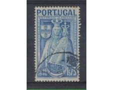 1946 - LOTTO/9722DU - PORTOGALLO - 1,75e. VERGINE PATRONA- USATO