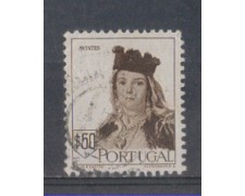 1947 - LOTTO/9723DU - PORTOGALLO - 50c. COSTUMI AVINTES - USATO