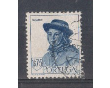 1947 - LOTTO/9723FU - PORTOGALLO - 1,75e. COSTUMI ALGARVE- USATO