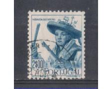 1947 - LOTTO/9723GU - PORTOGALLO - 2e. COSTUMI MIRANDA - USATO