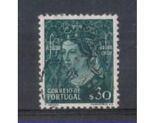 1949 - LOTTO/9729BU - PORTOGALLO - 30c. FILIPPA LANCASTER - USAT