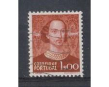 1949 - LOTTO/9729EU - PORTOGALLO - 1e. NUNO ALVAREZ - USATO