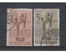 1949 - LOTTO/9730U - PORTOGALLO - STORIA DELL'ARTE 2v. USATI