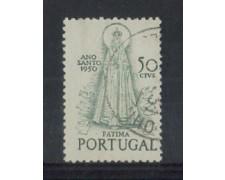 1950 - LOTTO/9732AU - PORTOGALLO -  50c. ANNO SANTO - USATO