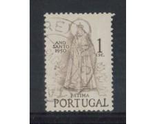 1950 - LOTTO/9732BU - PORTOGALLO - 1e. ANNO SANTO - USATO