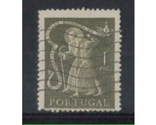 1950 - LOTTO/9733CU - PORTOGALLO - 1e. SAN GIOVANNI - USATO