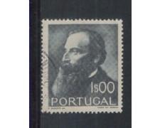 1951 - LOTTO/9734BU - PORTOGALLO - 1e. JUNQUIERO - USATO