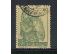 1951 - LOTTO/9735AU - PORTOGALLO - 50c. CONGRESSO PESCA - USATO
