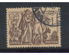 1951 - LOTTO/9737BU - PORTOGALLO - 1e. TERCEIRA - USATO