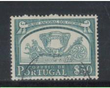 1952 - LOTTO/9739CU - PORTOGALLO - 50c. CARROZZE - USATO