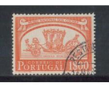 1952 - LOTTO/9739EU - PORTOGALLO - 1e. CARROZZE - USATO