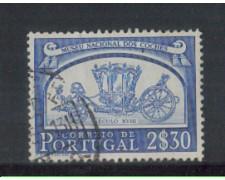1952 - LOTTO/9739HU - PORTOGALLO - 2,30e. CARROZZE - USATO