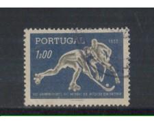 1952 - LOTTO/9741AU - PORTOGALLO - 1e. HOCKEY - USATO