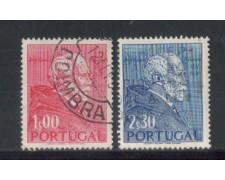 1952 - LOTTO/9742U - PORTOGALLO - G.TEIXEIRA 2v. - USATI