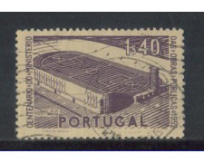 1952 - LOTTO/9743BU - PORTOGALLO - 1,40e. STADIO - USATO