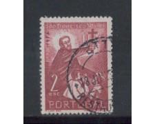 1952 - LOTTO/9744BU - PORTOGALLO - 2e. S.F.SAVERIO - USATO