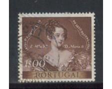 1953 - LOTTO/9750BU - PORTOGALLO - 1e. CENT. FRANCOBOLLO - USATO