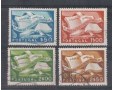 1954 - LOTTO/9752U - PORTOGALLO - EDUCAZIONE 4v. USATI