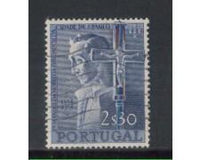 1954 - LOTTO/9754BU - PORTOGALLO - 2,30e. M.NOBREGA - USATO