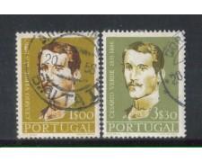 1957 - LOTTO/9762U - PORTOGALLO - CESARIO VERDE 2v. USATI