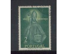 1958 - LOTTO/9764BU - PORTOGALLO - 2e. S.TEOTONIO - USATO