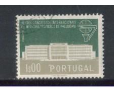 1958 - LOTTO/9765AU - PORTOGALLO- 1e. MEDICINA TROPICALE - USATO