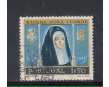 1958 - LOTTO/9767BU - PORTOGALLO - 1,50e. DONA LEONORA - USATO