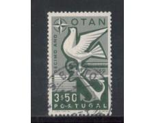 1960 - LOTTO/9769BU - PORTOGALLO - 3,50e. DECENNALE NATO - USATO