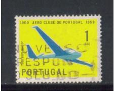 1960 - LOTTO/9771AU - PORTOGALLO - 1e. AERO CLUB - USATO
