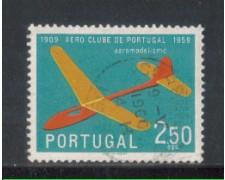 1960 - LOTTO/9771DU - PORTOGALLO - 2,50e. AERO CLUB - USATO