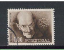 1960 - LOTTO/9772AU - PORTOGALLO - 1e. PADRE CRUZ - USATO