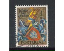 1960 - LOTTO/9774AU - PORTOGALLO - 1e. ENRICO AVIZ - USATO