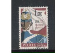 1962 - LOTTO/9781AU - PORTOGALLO - 1e. GUARDIA NAZIONALE - USATO