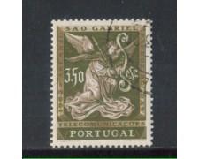 1962 - LOTTO/9783BU - PORTOGALLO - 3,50e. SAN GABRIELE - USATO