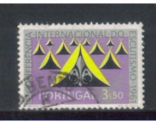 1962 - LOTTO/9784EU - PORTOGALLO - 3,50e. SCOUTS - USATO