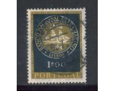 1964 - LOTTO/9796AU - PORTOGALLO - 1e. BANCA NAZ. - USATO