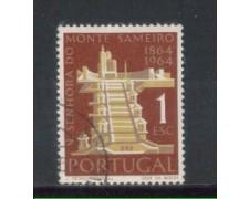 1964 - LOTTO/9797AU - PORTOGALLO - 1e. SANTUARIO SAMEIRO - USATO