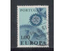 1967 - LOTTO/9818AU - PORTOGALLO - 1e. EUROPA - USATO