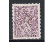 1969 - LOTTO/9830BU - PORTOGALLO - 3,50e. CABRAL - USATO