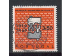 1969 - LOTTO/9833BU - PORTOGALLO - 3,50e. O.I.L. - USATO